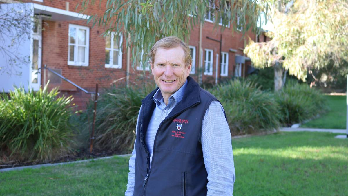 RURAL RESEARCH: Charles Sturt Professor Bruce Allworth said the research is in response to industry calls for more knowledge about the condition.