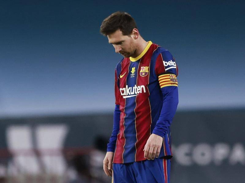 Barcelona will appeal the two-match ban handed to Lionel Messi.