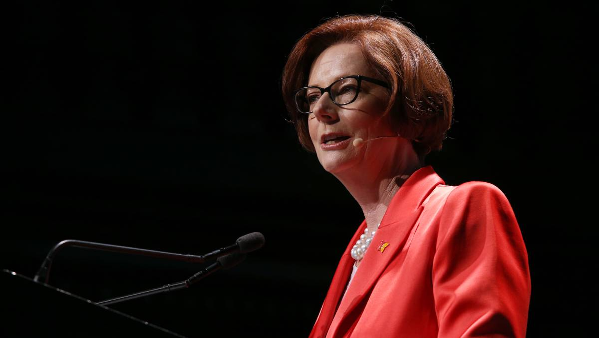 Former Prime Minister Julia Gillard. Picture: Getty Images
